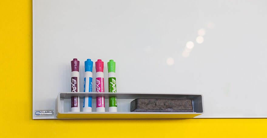 Borrador para una eficaz limpieza en seco de su pizarra magn/ética Verde Amazy Borrador Magnetico