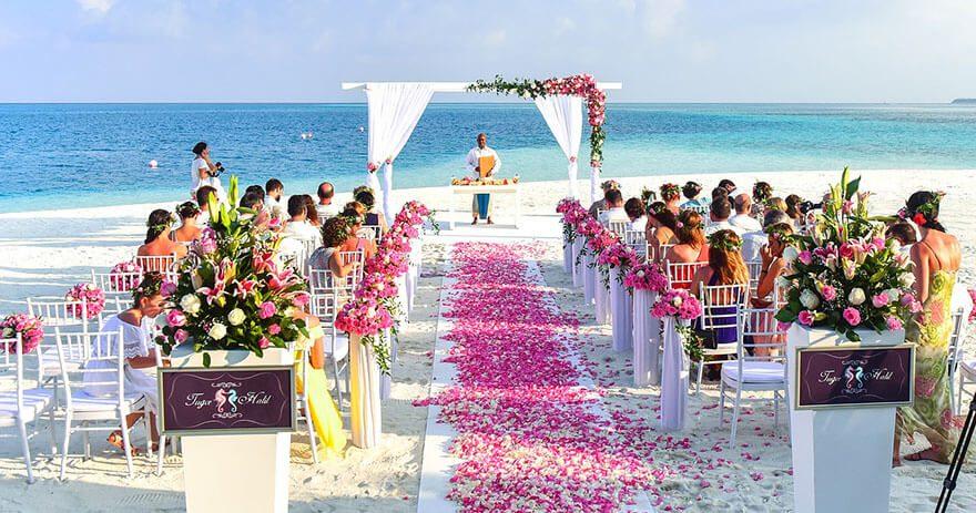 pizarra boda