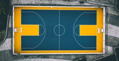 pizarra de baloncesto